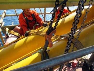 overhaul to Appleton offshore crane
