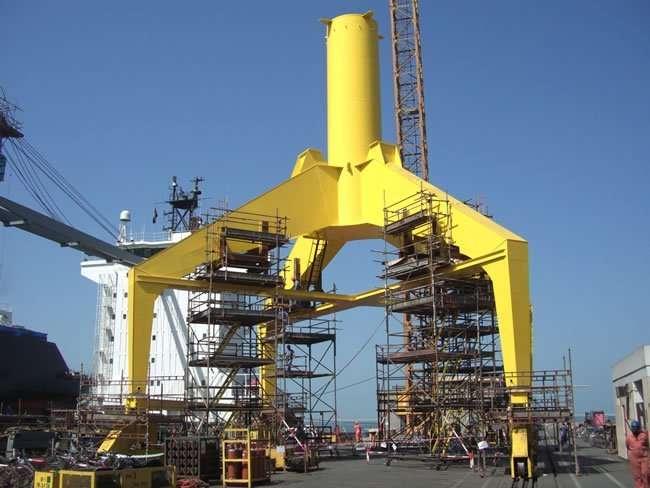 Bailey Dock Crane Repairs