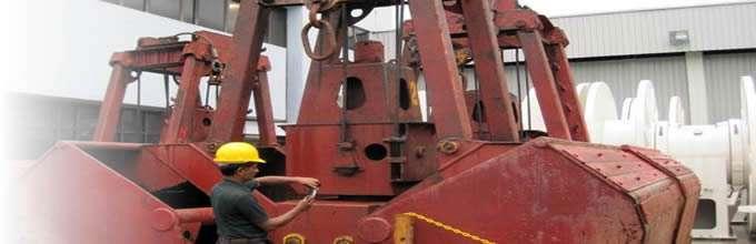 Tankraft DDR electro hydraulic grab repairs