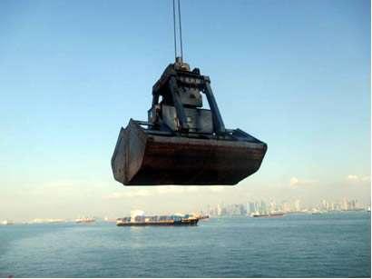 Marine Grab