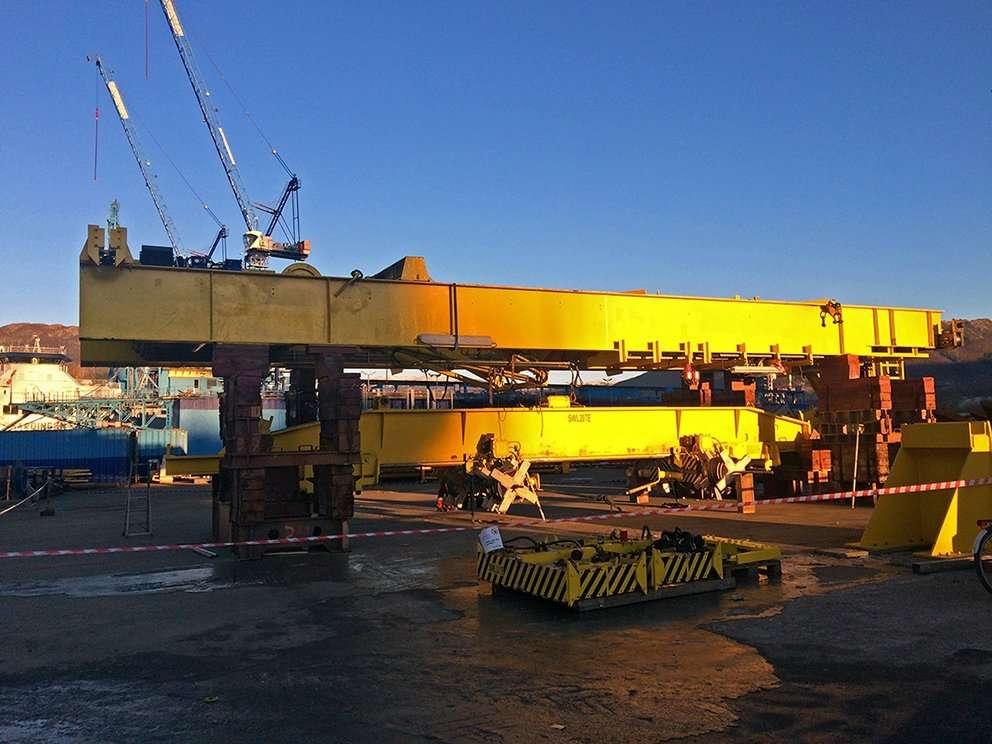 Gantry Crane Upgrade