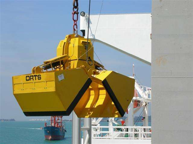 Retrofitting Deck Crane with ORTS Motor Grabs