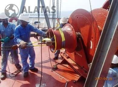 Pusnes Windlass Repairs