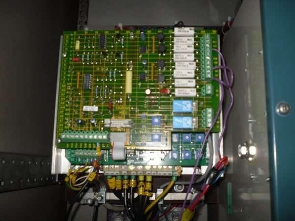 Shearleg crane electronics repairs