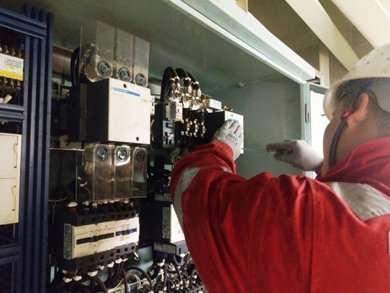 BLM windlass electronic system overhaul