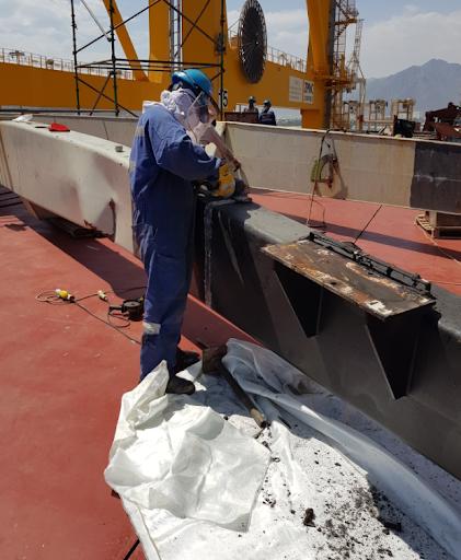 IHI H30T 26MR Boom repairs