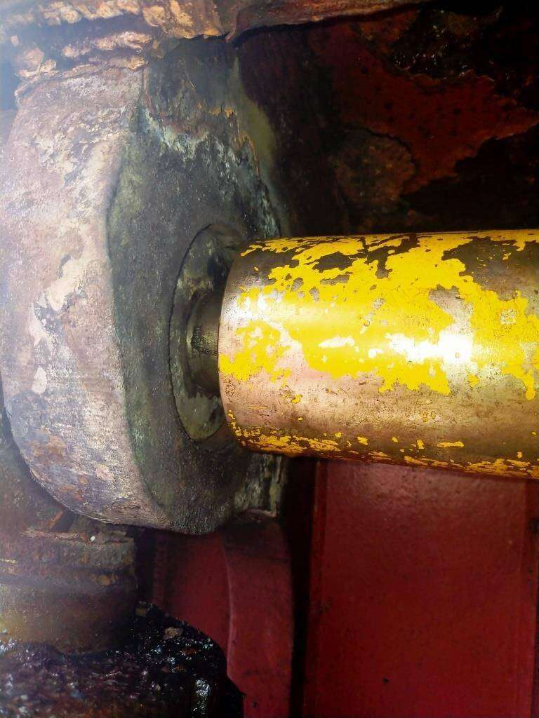 Hatch cover repairs