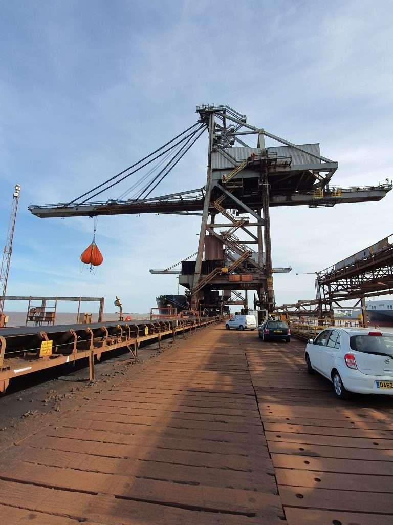 Ship Unloader Repairs