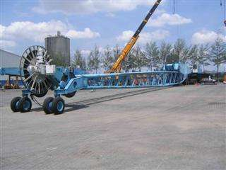 commissioning of two Liebherr LHM 1200 HD