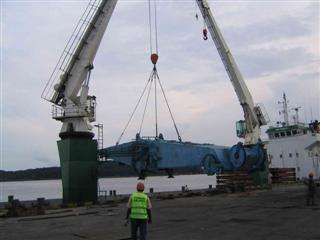 commissioning of two Liebherr LHM 1200HDs