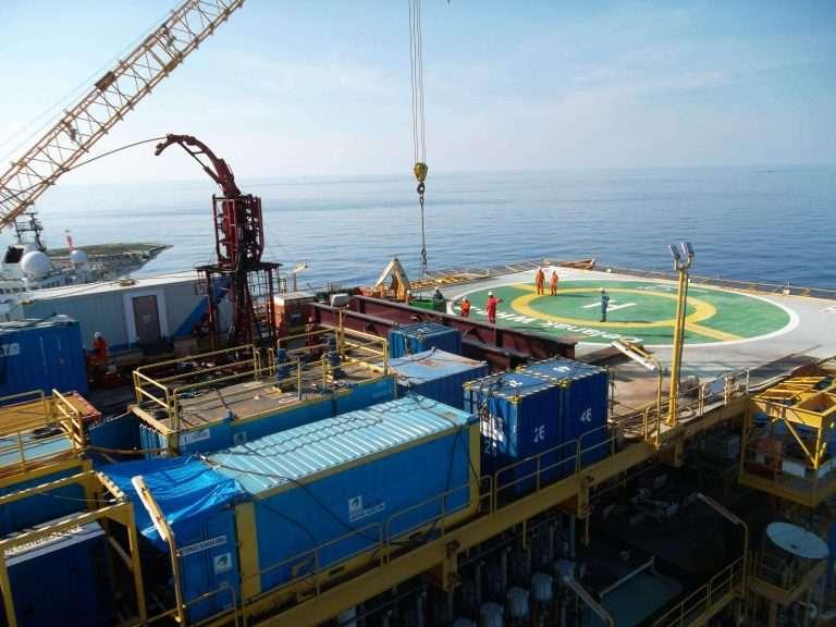 drilling crane parts