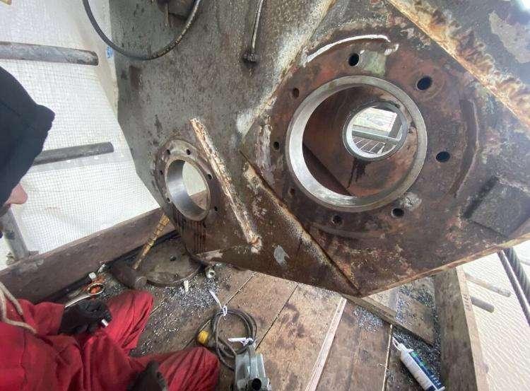 Clarke Chapman Ship Unloader Repairs