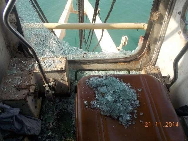Crane operator cabin refurbishment