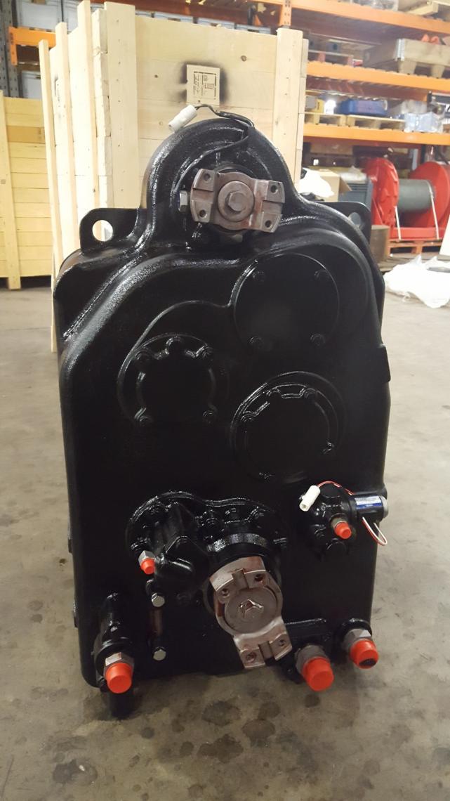 Tadano TR-350M transmission repair