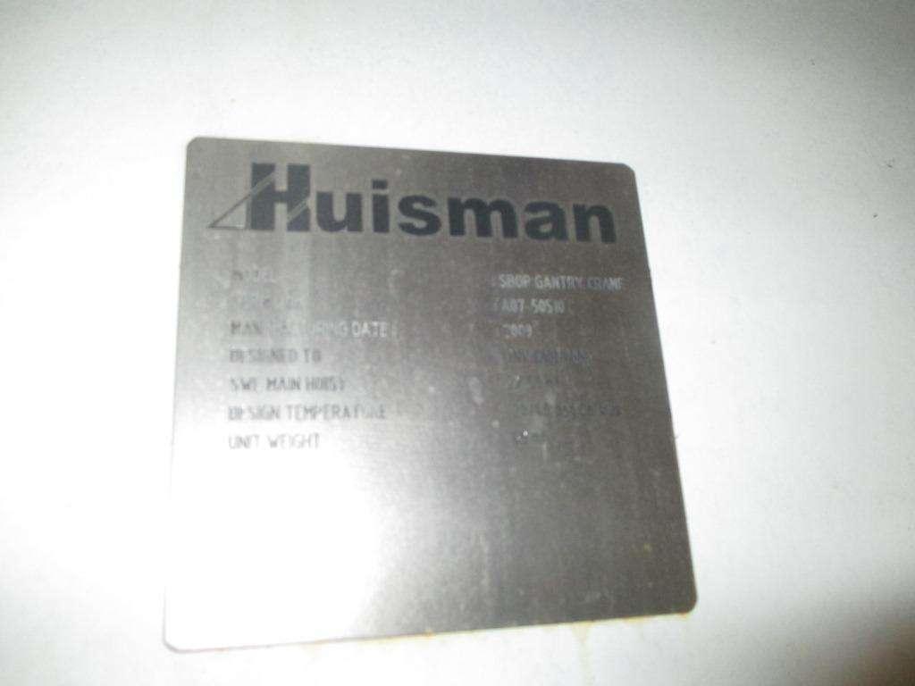 5 YEAR INSPECTION OF HUISMAN NOV CRANES