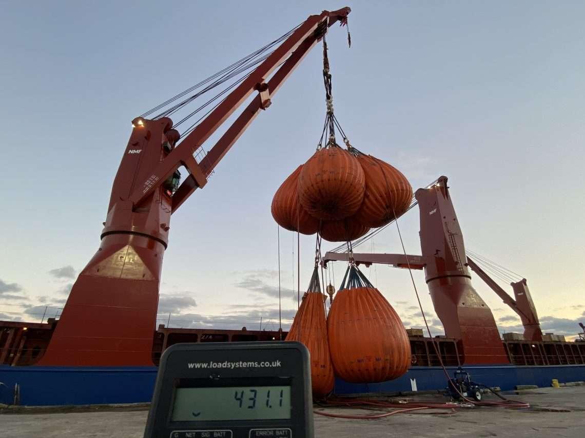 5 Yearly Crane Surveys at TNG Shipyard Mexico