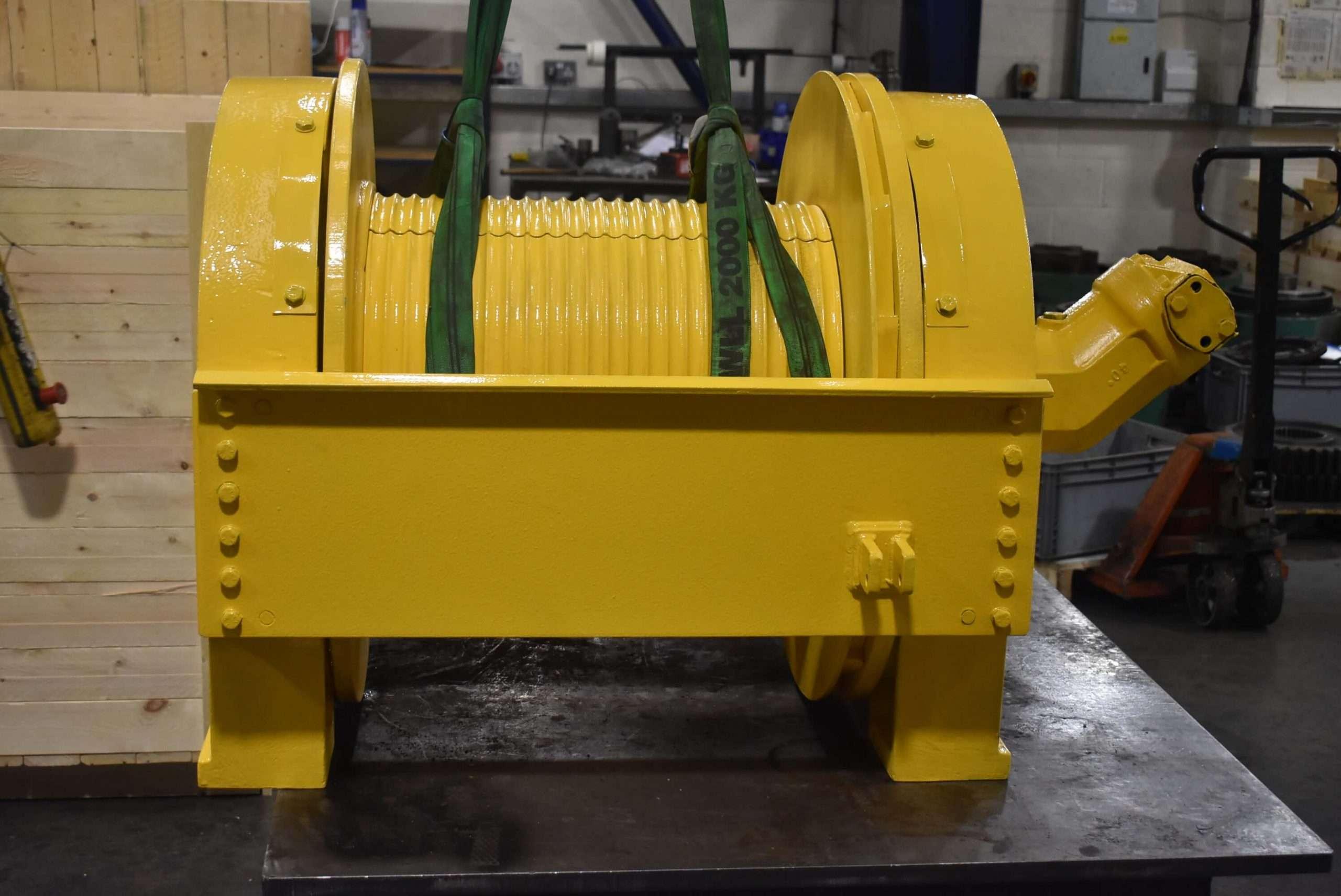 Repair of Braden CH Series Winch