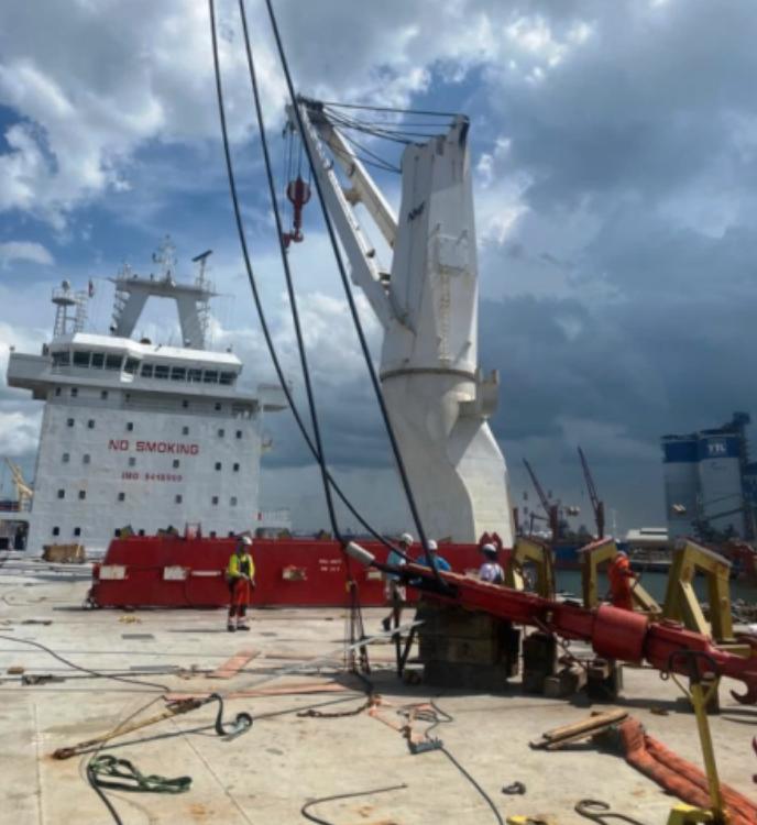 Hook Block Repairs Jurong Port