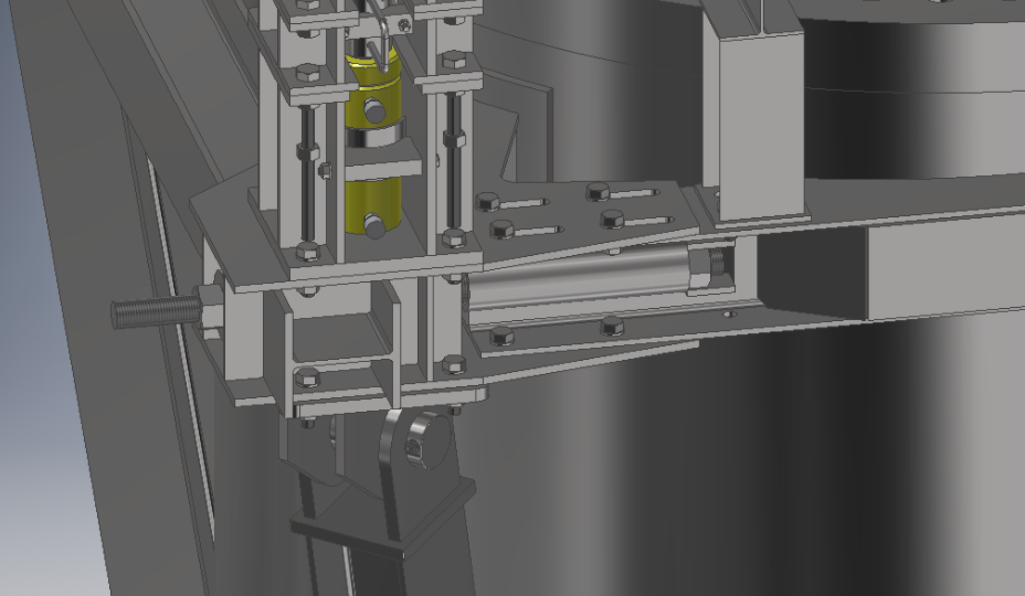 Slew bearing jacking systems