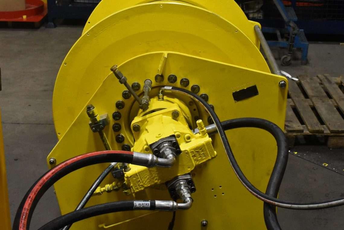 Zollern ZHP 4.26 winch repairs