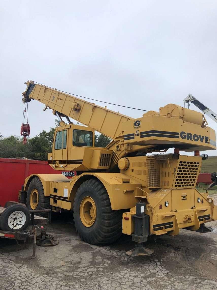 Grove RT760 Refurbishment Houston