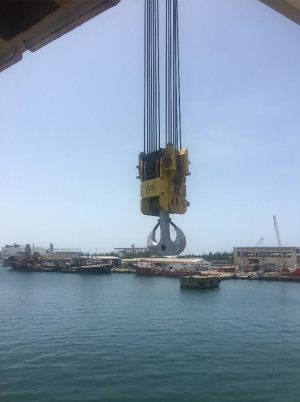 Huisman Main Wire Rope Changeout Mexico