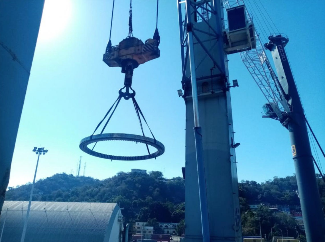 Fukushima Slewing Bearing Replacement