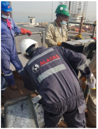 Structural Boom Repairs to Luffing Deck Crane
