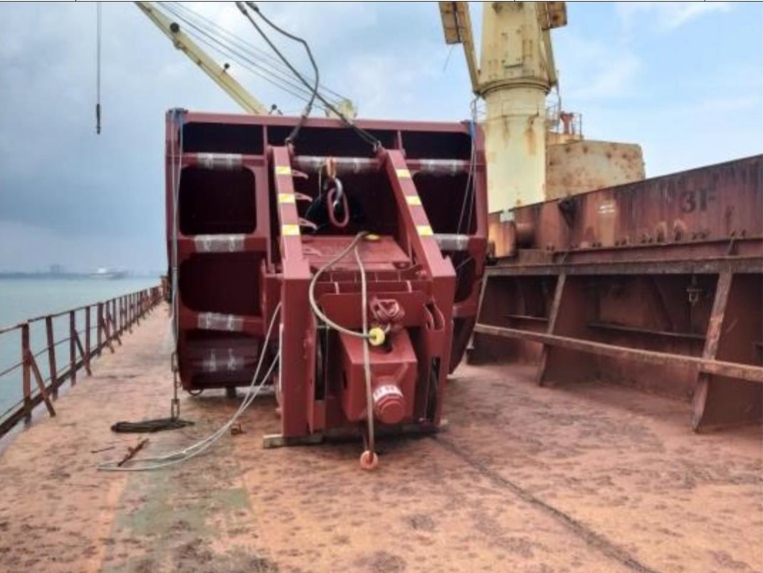 Commissioning of Four Guven Grabs