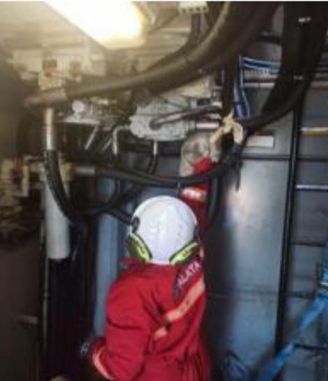 Deck crane maintenance Turkey