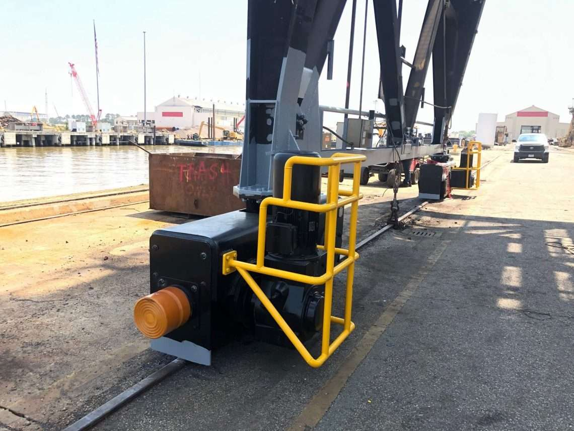Fabricate and Install New Travel Bogies