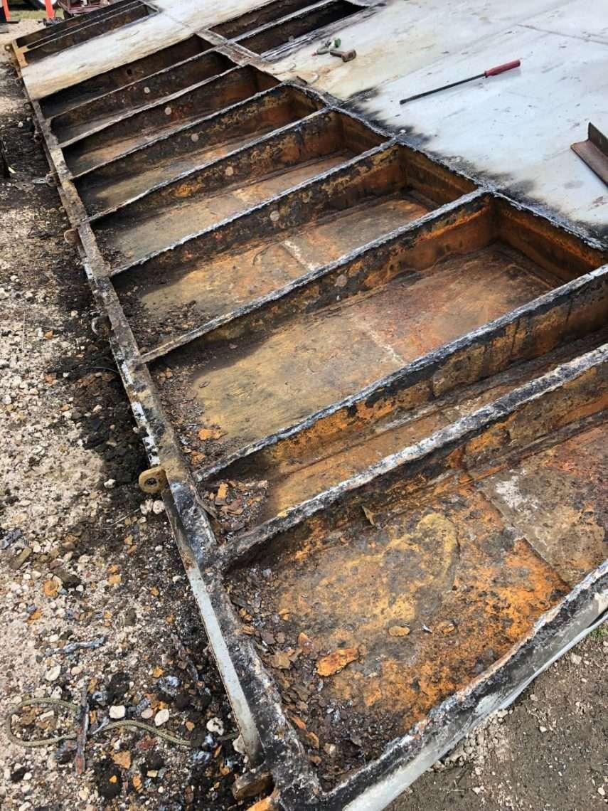 Stern Ramp Repairs