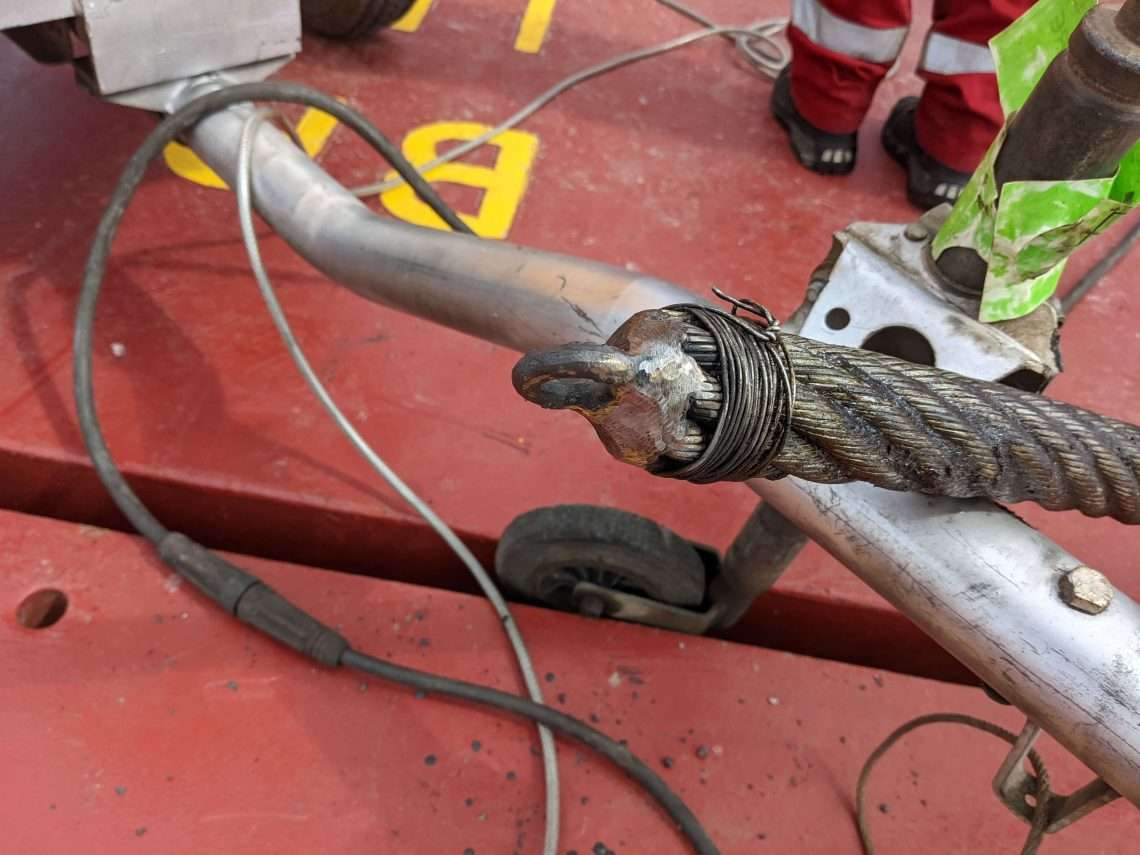Luffing Rope Replacement Scotland
