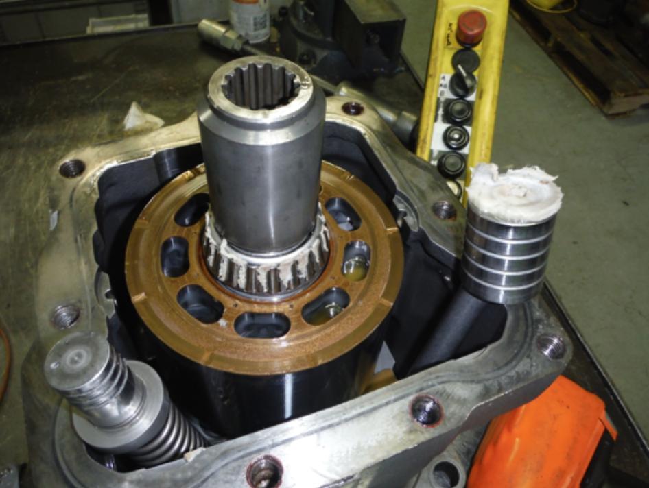 Linde Hydraulics Pump & Valve Repairs