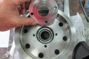 Cylinder piston repaired
