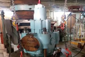 Engine Room Crane Troubleshooting Borusan Port