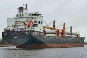 Vessel with 4x MacGREGOR Cranes SWL 60T