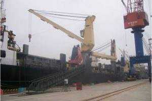 drydocking repairs to NMF cranes